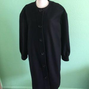 Surface To Air Paris 80% wool black coat